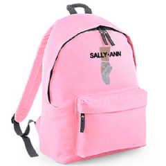 Personalised BALLET SHOES Dancer Rucksack  (BG125)